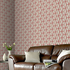 more details on Graham and Brown Wallpaper - Ling Red.