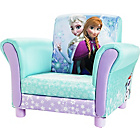 more details on Disney Frozen Upholstered Chair - Blue.