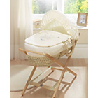 more details on Lollipop Lane With Love Moses Basket - Palm.