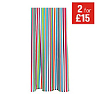more details on ColourMatch Shower Curtain - Stripes