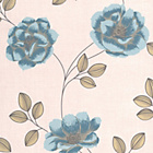more details on Superfresco Wallpaper - Flavia Teal.