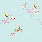 more details on Disney Fairies Wallpaper - Multicoloured.