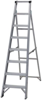 Buy Hailo Combination 9 Rung Extension Ladder At Argos Co