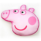 more details on Peppa Pig Head Shaped Cushion - Multicoloured.