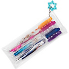 more details on Frozen Glitter Gel Pens in Wallet.