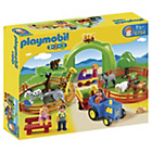 more details on Playmobil 1.2.3 Large Zoo.