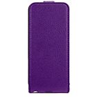 more details on Xqisit Flipcover for iPhone 5S - Purple.