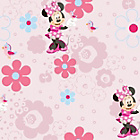 more details on Disney Minnie Spring Walk Wallpaper - Multicoloured.