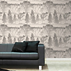 more details on Graham and Brown Wallpaper - Mirage White.
