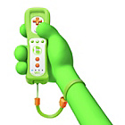 more details on Official Nintendo Wii U Yoshi Edition Remote Plus - Green.