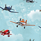 more details on Disney Planes Wallpaper Sample - Multicoloured.