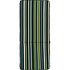 more details on Garden Multi-Position Cushion - Green Stripe.