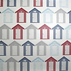 more details on Contour Seaside Wallpaper - Red.