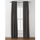 more details on Heart of House Camden Lined Curtains - 168x183cm - Charcoal.