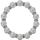 more details on Glass Pearl Crystal Bracelet.