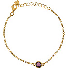 more details on Insignia by LaBante Sterling Silver Faux Amethyst Bracelet.