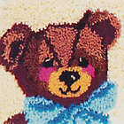 more details on Bear Latch Hook Rug Kit.