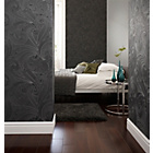 more details on Graham and Brown Wallpaper - Saville Black.