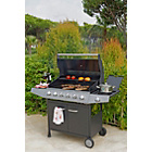 more details on Premium 6 Burner Gas BBQ with Side Burner - Express Delivery