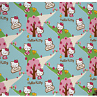 more details on Hello Kitty Wallpaper - Woodland Stroll Pink.