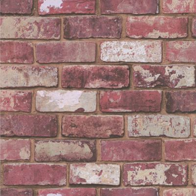 Buy Graham And Brown Wallpaper Sample Hemingway Brick At