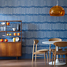 more details on Graham and Brown Wallpaper - Loopy Line Blue.