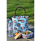 more details on Beau and Elliot Filigree Insulated Lunch Tote - Blue.