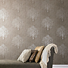 more details on Graham and Brown Enchant Wallpaper - Mocha.