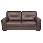more details on Aston Large Leather Sofa - Chocolate.