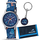 more details on Kahuna Unisex Youth Surf Print Watch Set.