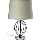 more details on Heart of House Evenley Sphere Table Lamp - Chrome.