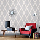 more details on Graham and Brown Wallpaper - Jewel White.