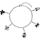 more details on Ladybird Butterfly Charm Bracelet.