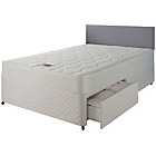 more details on Airsprung Hollis Memory Small Double 2 Drw Divan Bed.