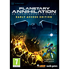 more details on Planetary Annihilation: Early Access Edition PC Game.