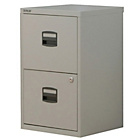 more details on Bisley 2 Drawer A4 Drawer A4 Filing Cabinet - Grey.