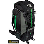 more details on Highlander Starav 85L Rucksack - Black and Green.