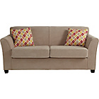 more details on HOME Stacey Fabric Sofa Bed - Mink.