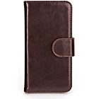more details on Xqisit Wallet Case Eman for iPhone 5S - Brown.
