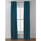 more details on Heart of House Camden Lined Curtains - 168 x 183cm - Teal.