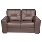 more details on Aston Regular Leather Sofa - Chocolate.