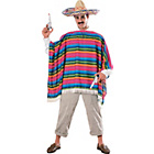 more details on Mexican Poncho Costume - 38-40 Inches.