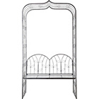 more details on 4ft Wide Seat with Metal Garden Arch.