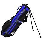 more details on Longridge Weekend Golf Stand Bag - Silver and Navy.