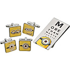 more details on Despicable Me Minion Cufflinks and Money Clip Set.