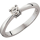 more details on Platinum 0.50ct Diamond Solitaire Ring - Size V.