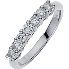 more details on Made for You 9ct White Gold 0.50ct 7 Stone Eternity Ring.