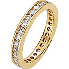 more details on Made for You 18ct Gold 1.00ct Diamond Eternity Ring.