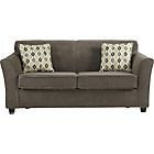 more details on Stacey Fabric Sofa Bed - Charcoal.