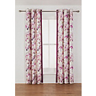 more details on Clarissa Lined Eyelet Curtain - 90x90in - Berry.